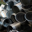 Steel pipeline — Stock Photo #27979311
