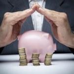 Saving money concept — Stock Photo