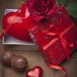 Valentines day background — Stock Photo #23510061