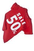Sale Shirt — Stock Photo