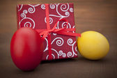 Present for easter — Stock Photo
