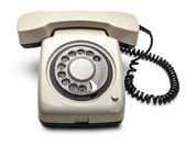 Telephone with rotary dial — Stock Photo