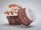 Chocolade verjaardag cupcakes — Stockfoto