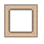 Frame in ethnic style — Stock Vector