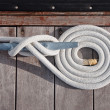 Stock Photo: Coiled Line