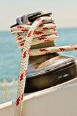 Linha e guincho — Foto Stock