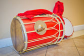 Tossa Band Drums — Stock Photo