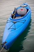 Blue Kayak — Stockfoto
