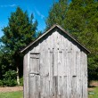 Old Wood Shack — Stock Photo