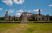 Dungeness Mansion Ruins on Cumberland National Seashore — Stock Photo