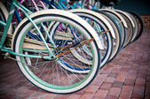 Row of Bicycles — Stock Photo