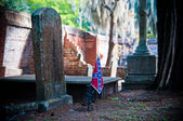 Confederate Graveyard — Stock Photo