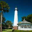Stock Photo: St Simons Lighthouse