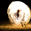 Fire Show. Koh Samet island. — Stock Photo