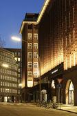 Chilehaus Hamburg Strassenansicht — Stock Photo