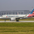 New American Airlines Airbus A319 — Stock Photo