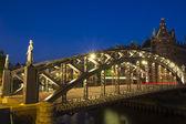 Brooks ponte amburgo — Foto Stock