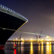 Queen Mary 2 in Hamburg — Stock Photo #30664157