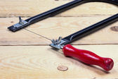 Coping Saw — Stock Photo