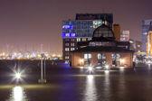 Hamburg Fishmarket Flooded during Xaver — Stock Photo