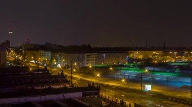 Time Lapse of Berlin Street — Vídeo de stock