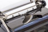 Detalle de la máquina de escribir — Foto de Stock