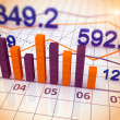 Stock market chart and graphs — Stock Photo #25752487