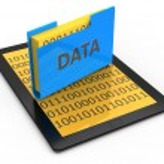 Data storage concept — Stock Photo