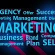 Marketing concept close up - Stock Photo