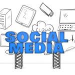 Social media concept — Stock Photo #25754615