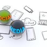 Social media concept — Stock Photo #25754633