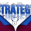 Strategy planning concept — Stock Photo #25754805