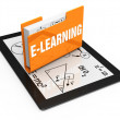 Stock Photo: E-Learning concept