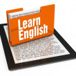Foto Stock: Learn english