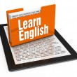 Learn english — Stockfoto