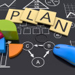 Stock Photo: Business planning