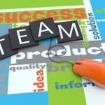 Team building concept — Stock Photo