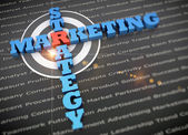 Targeted marketing concept — Stock Photo