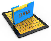 Data storage concept — Stock Photo
