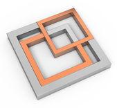 幾何学的図形の概念 — ストック写真