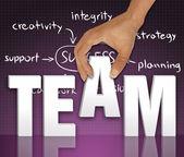 Team words concept — Stock Photo