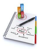 Plan words concept — Stock Photo