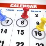 Calendar planning concept — Stock Photo #25933269