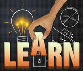 Learn process — Stock Photo