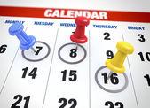 Calendar planning concept — Stock Photo
