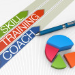 Skill training concept — Foto de Stock