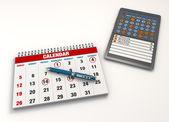 Calendar events — Stock Photo