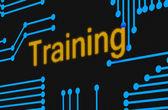 Skill training concept — Stock Photo