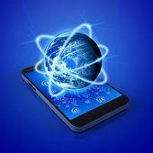 Mobile phones technology — Stock Photo