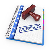 Verified concept — Stock Photo